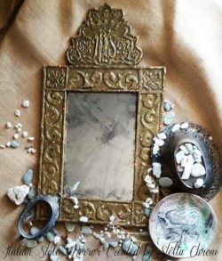 Beautiful Italian style mirror frame by student
