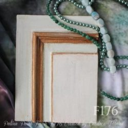 Beautiful mint green sample board by student